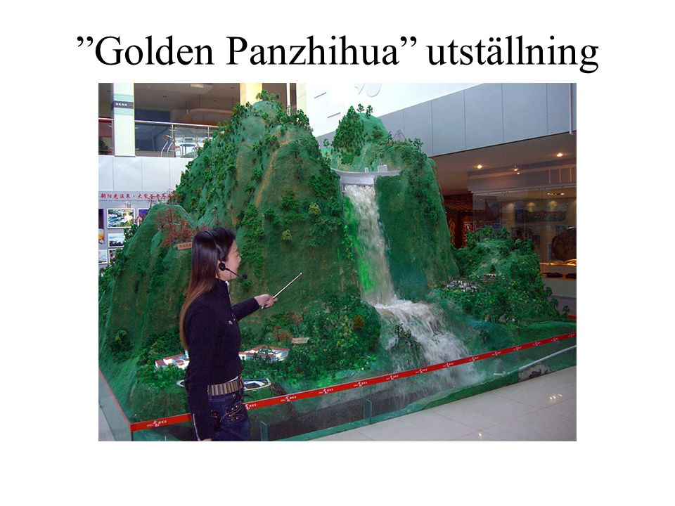 Golden Panzhihua utställning