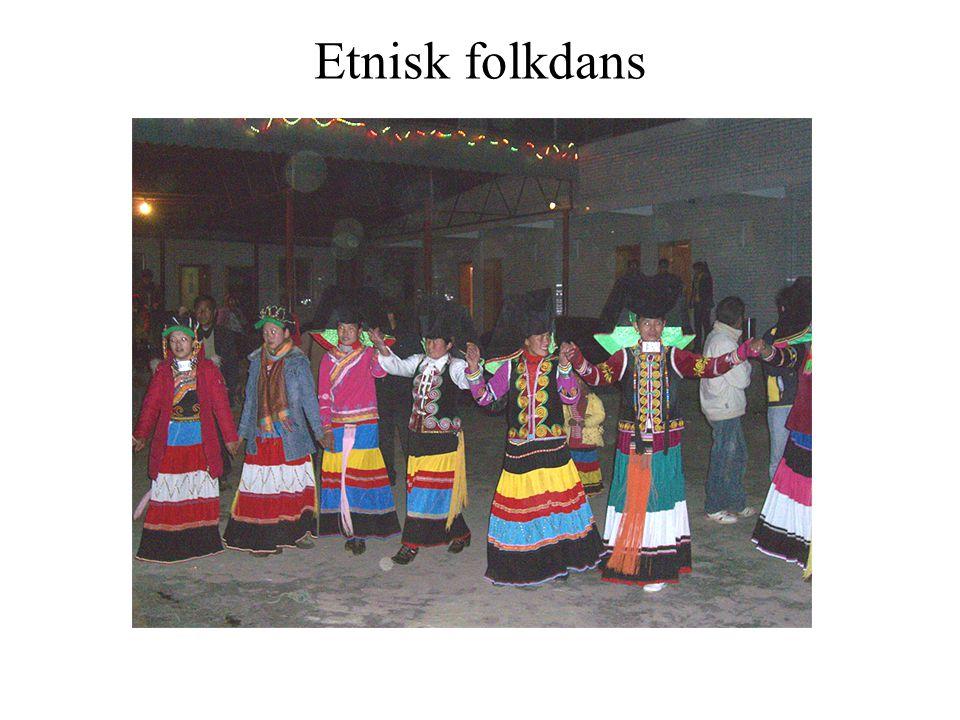 Etnisk folkdans