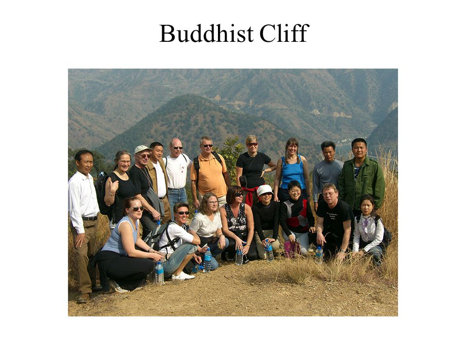 Buddhist Cliff