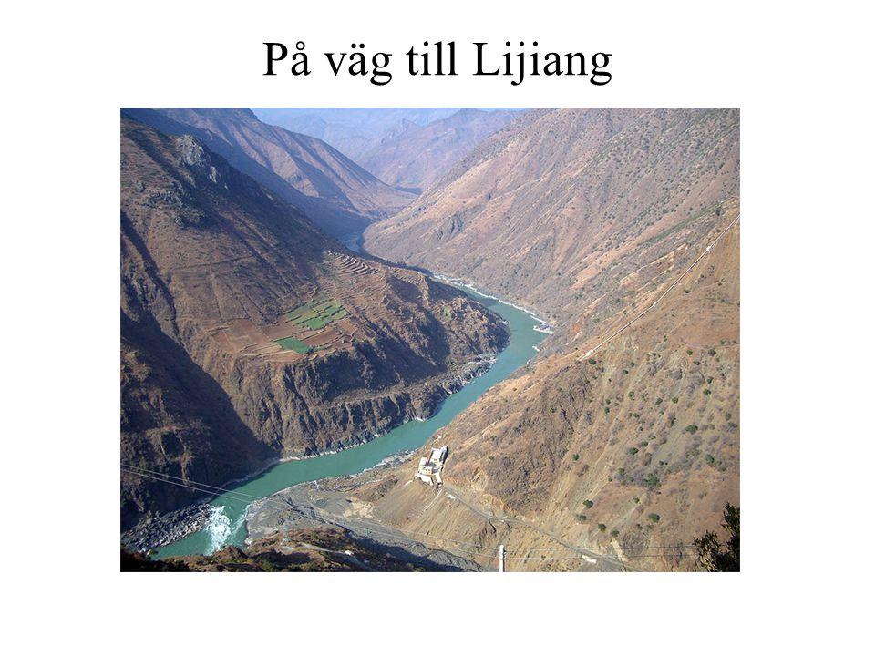 På väg till Lijiang