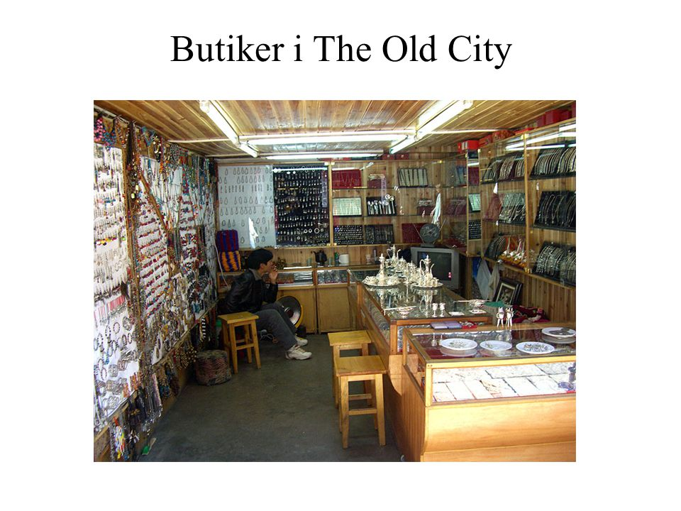 Butiker i The Old City