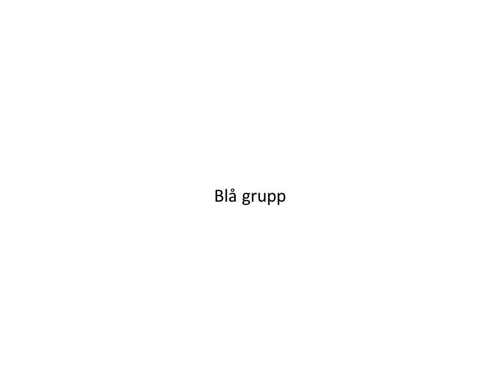 Blå grupp
