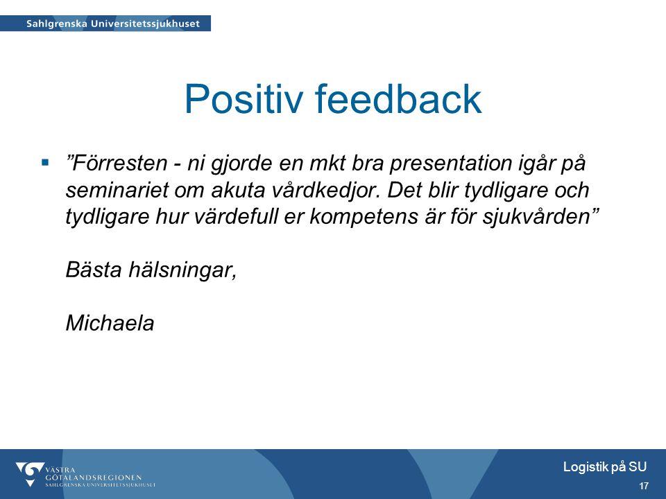 Positiv feedback