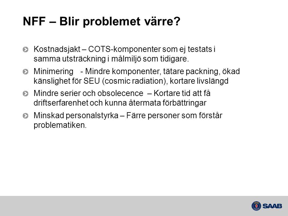 NFF – Blir problemet värre