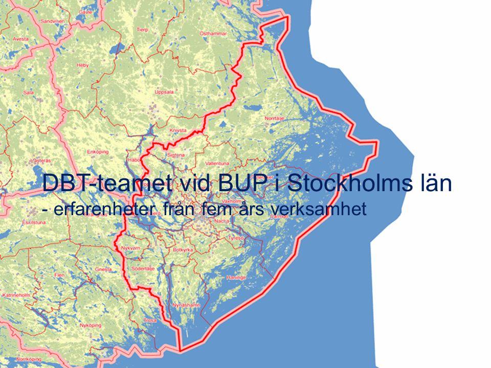 DBT-teamet vid BUP i Stockholms län