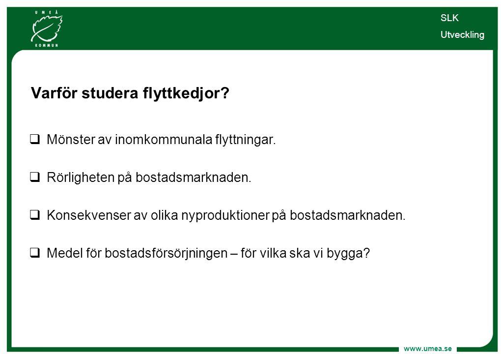 Varför studera flyttkedjor