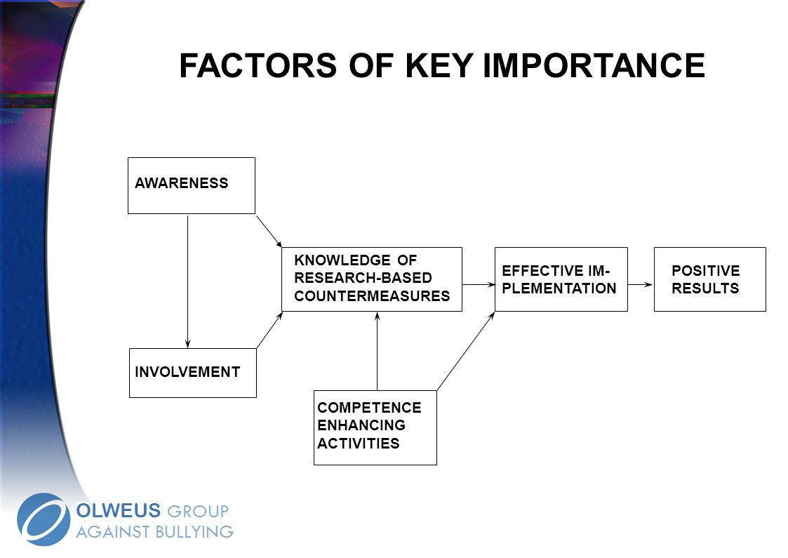 FACTORS OF KEY IMPORTANCE