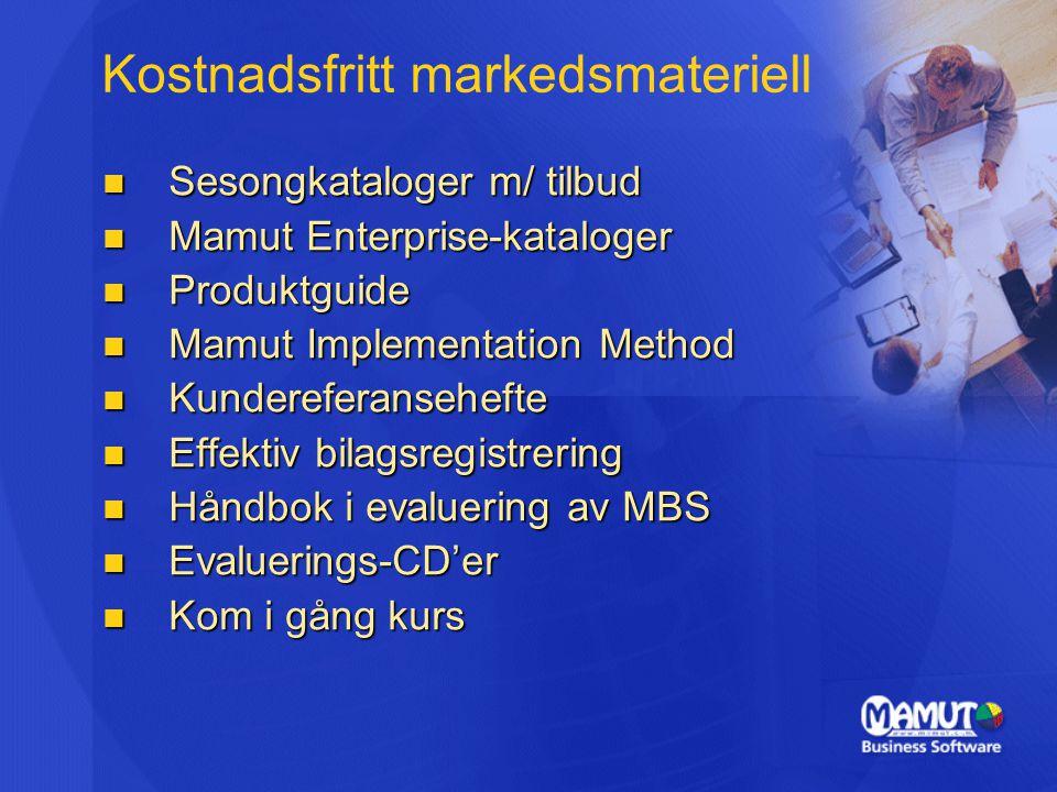 Kostnadsfritt markedsmateriell