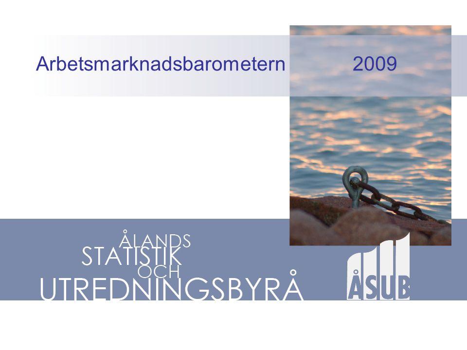 Arbetsmarknadsbarometern 2009