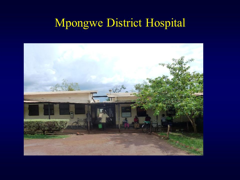 Mpongwe District Hospital