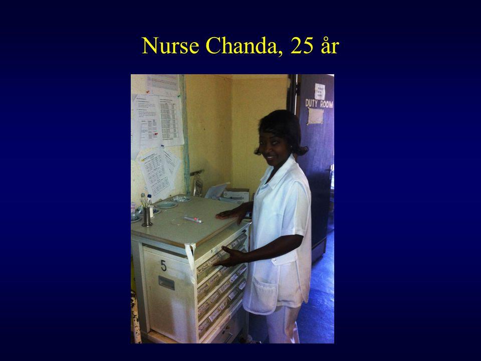 Nurse Chanda, 25 år