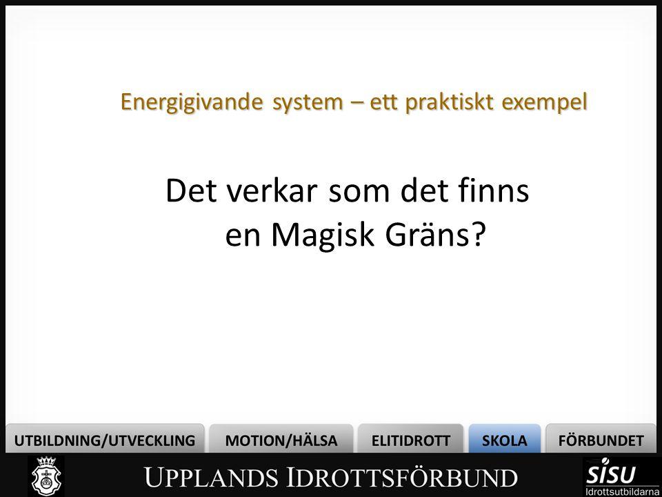 Energigivande system – ett praktiskt exempel