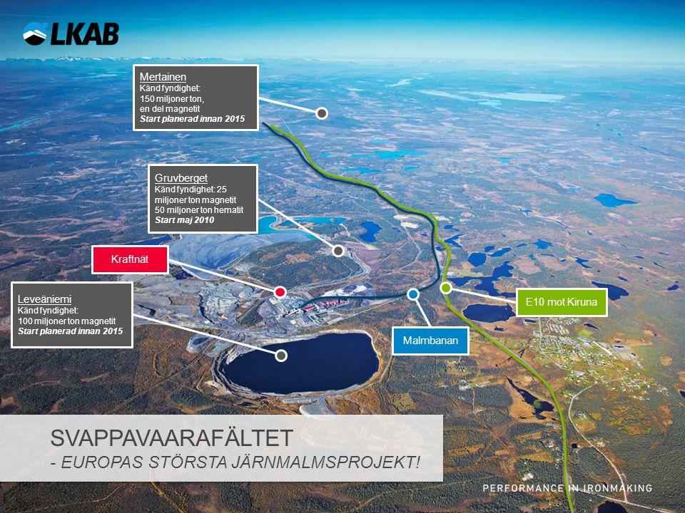 Svappavaarafältet - Europas största järnmalmsprojekt!