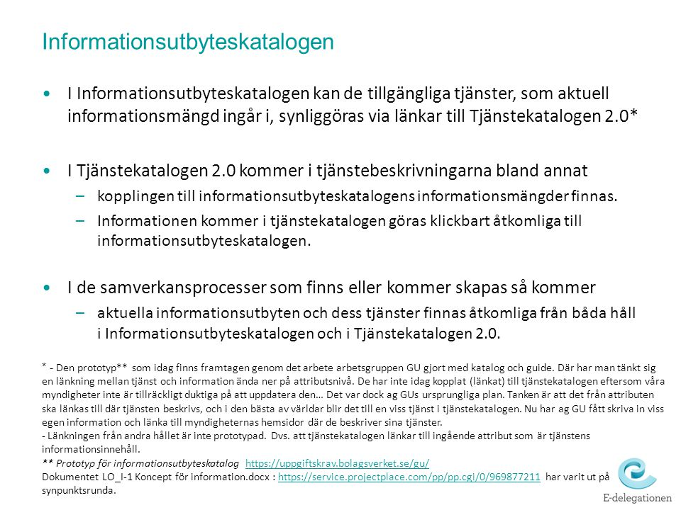 Informationsutbyteskatalogen