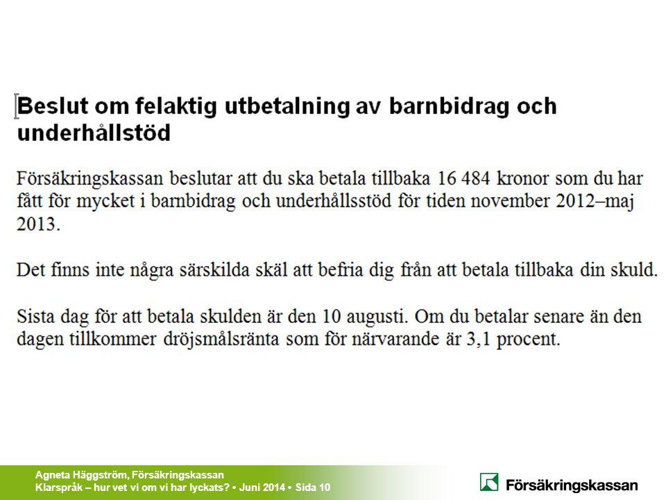 Så här ser alla myndighetsbeslut ut i Sverige