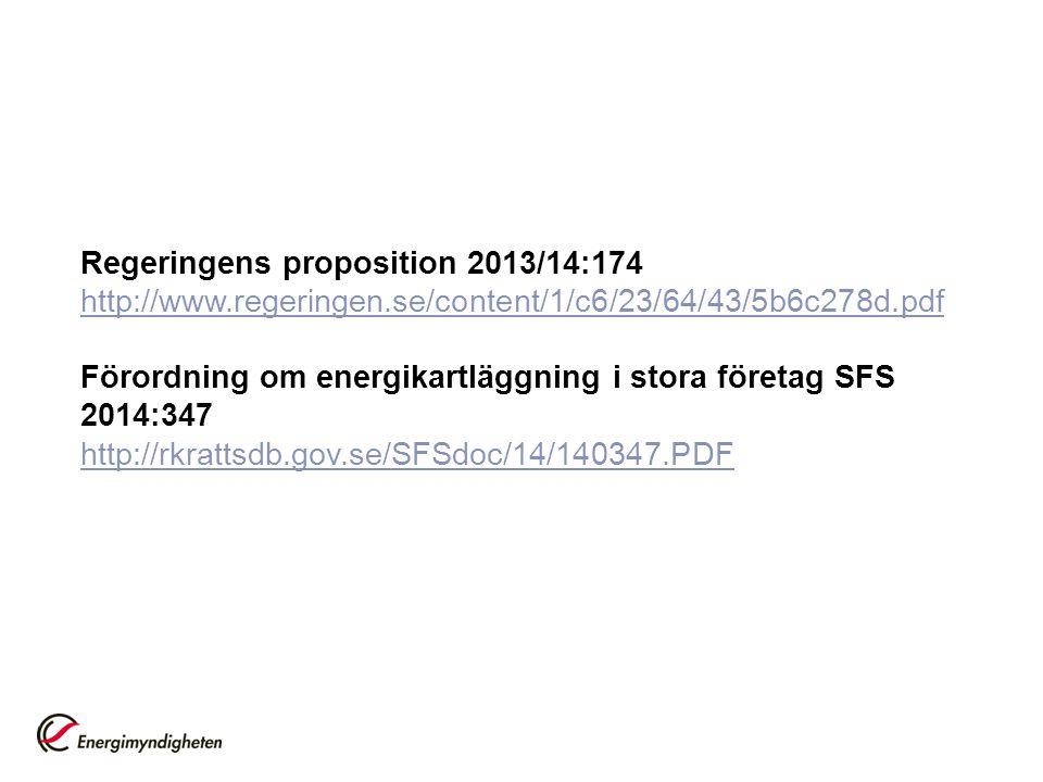 Regeringens proposition 2013/14:174