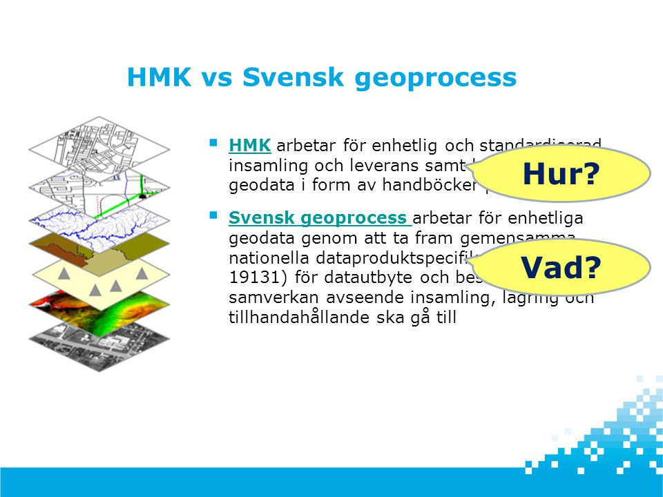 HMK vs Svensk geoprocess