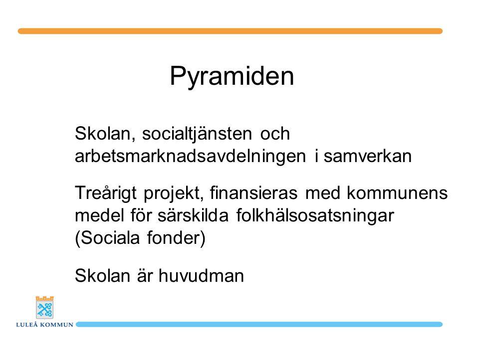 Pyramiden Skolan, socialtjänsten och
