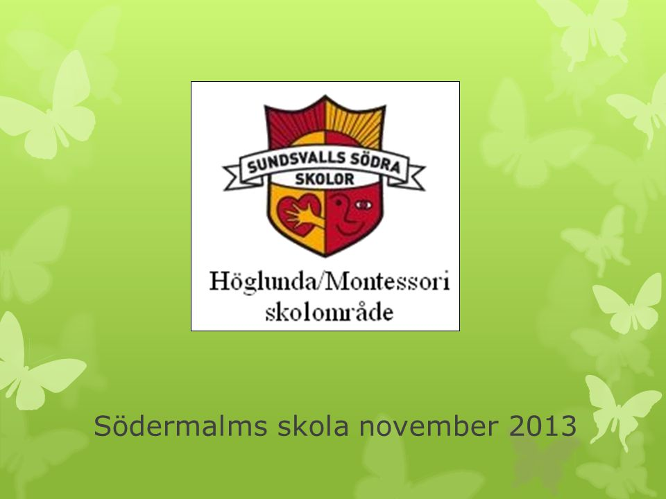 Södermalms skola november 2013