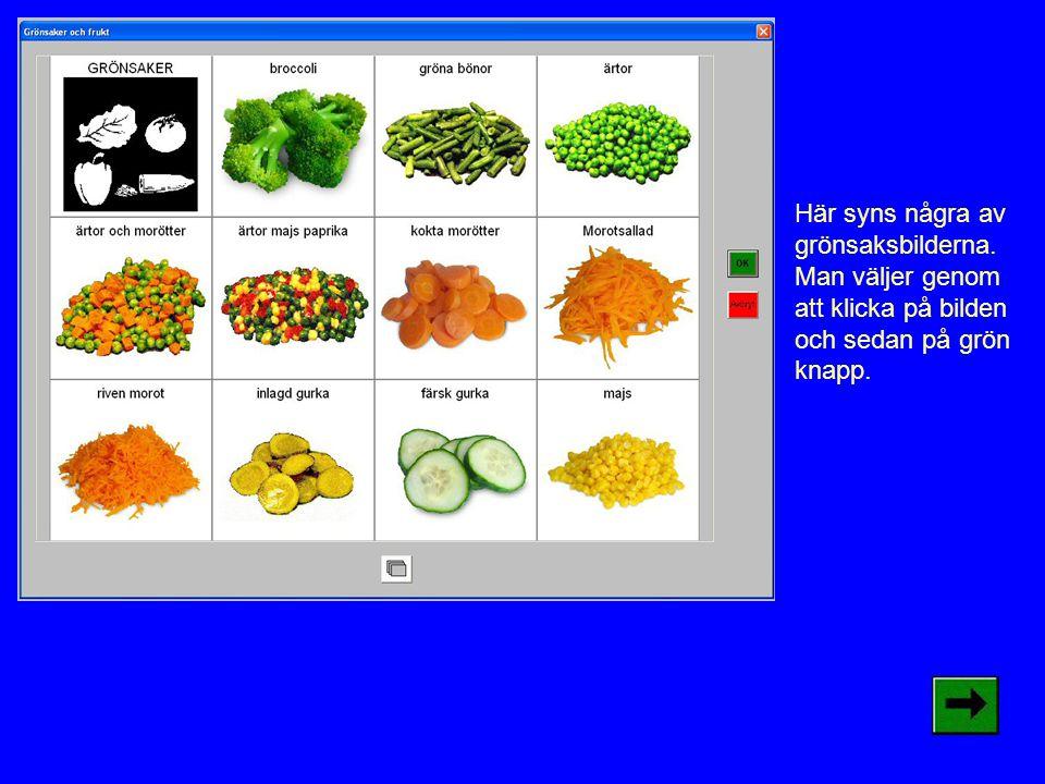 Här syns några av grönsaksbilderna.