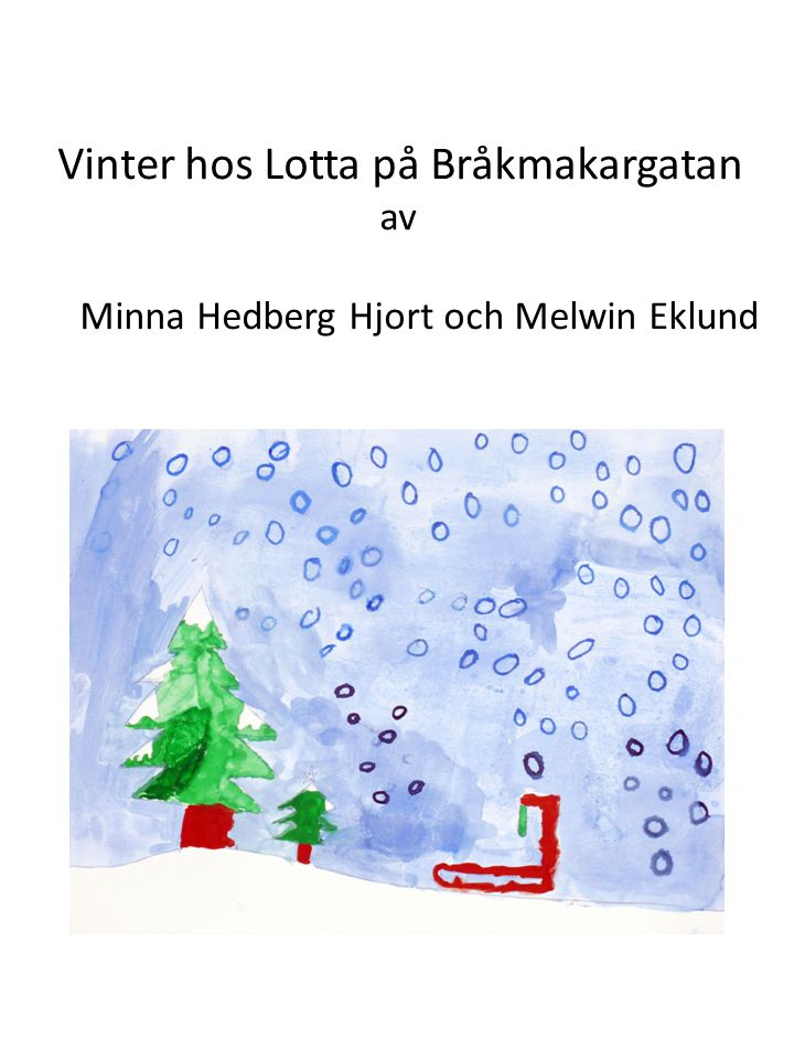 Minna Hedberg Hjort och Melwin Eklund
