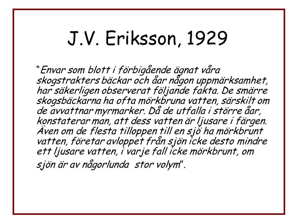 J.V. Eriksson, 1929