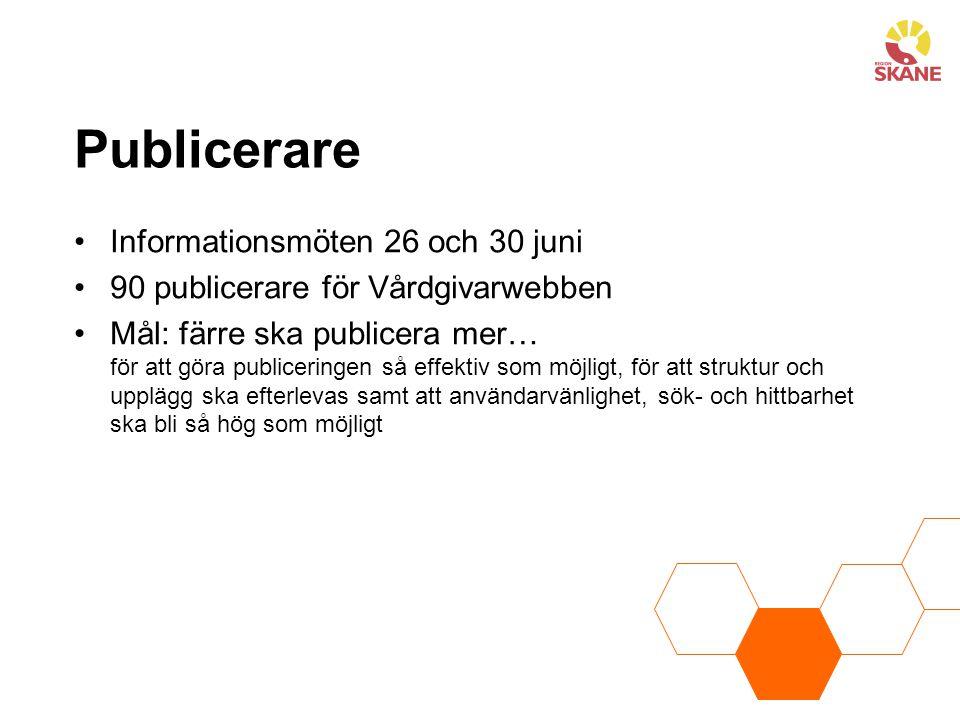 Publicerare Informationsmöten 26 och 30 juni