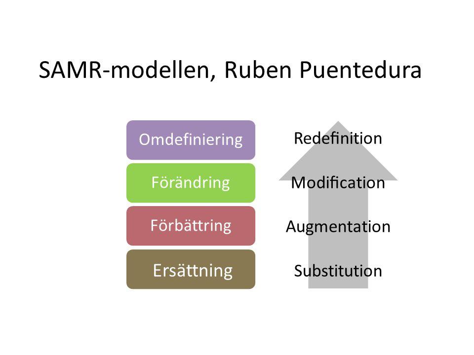 SAMR-modellen, Ruben Puentedura