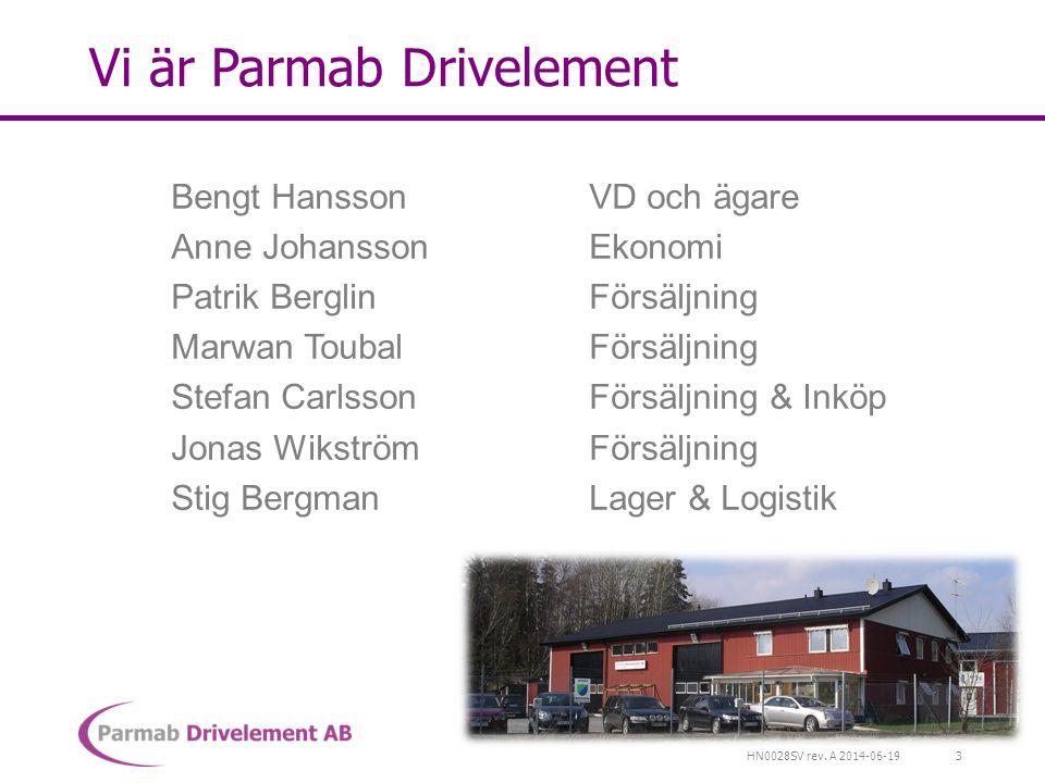 Vi är Parmab Drivelement