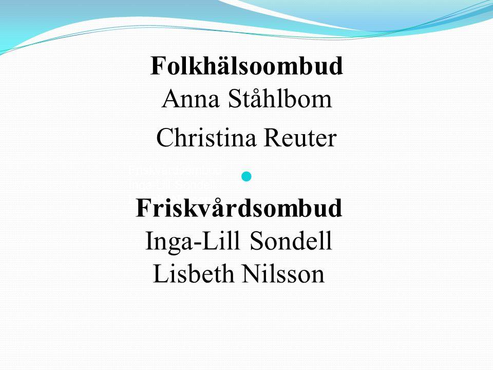 Folkhälsoombud Anna Ståhlbom