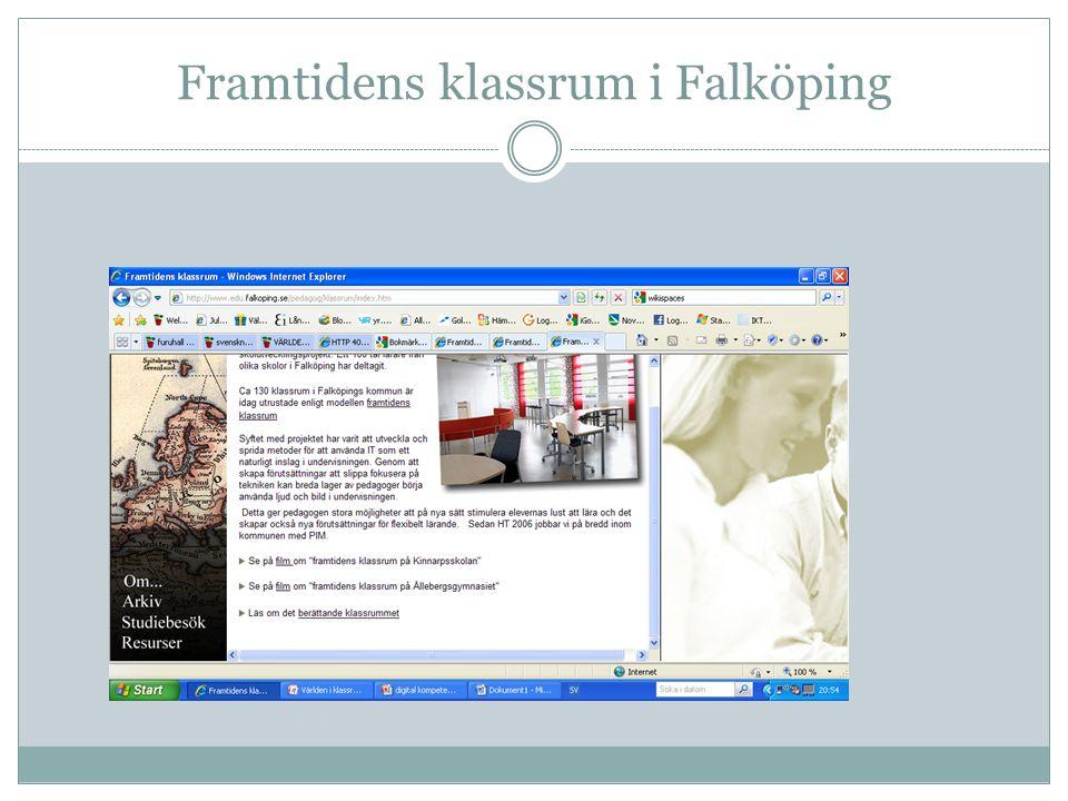 Framtidens klassrum i Falköping