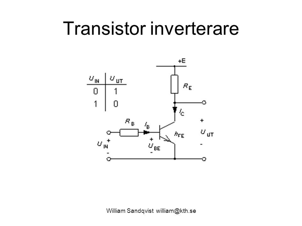 Transistor inverterare