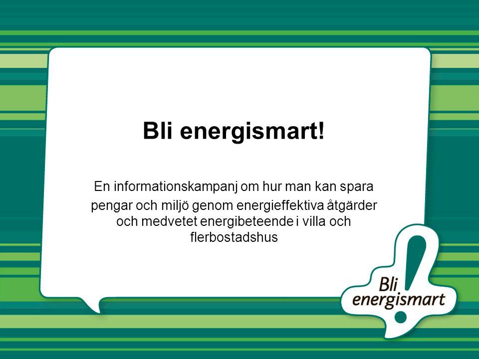 En informationskampanj om hur man kan spara