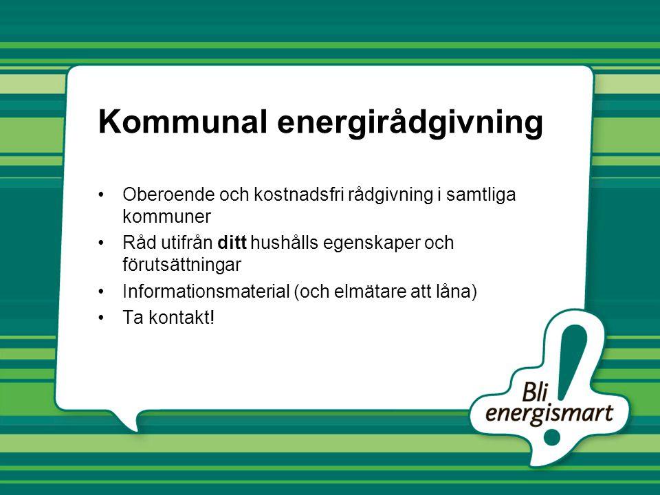 Kommunal energirådgivning