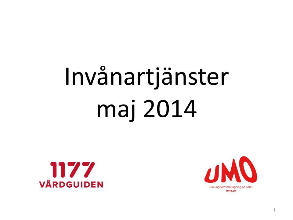 Invånartjänster maj 2014
