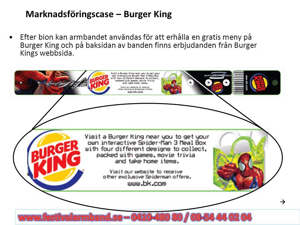 Marknadsföringscase – Burger King