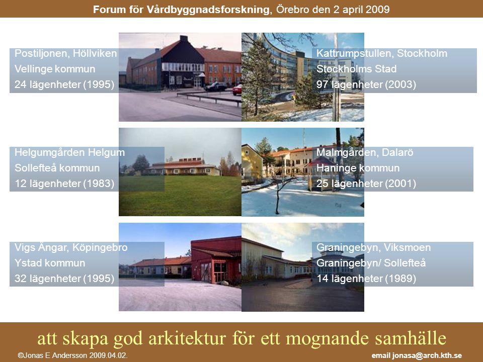 Postiljonen, Höllviken Vellinge kommun 24 lägenheter (1995)