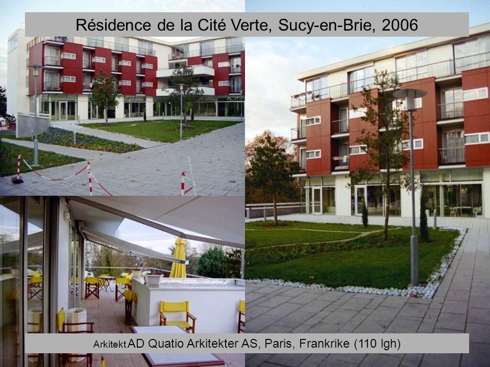 Résidence de la Cité Verte, Sucy-en-Brie, 2006