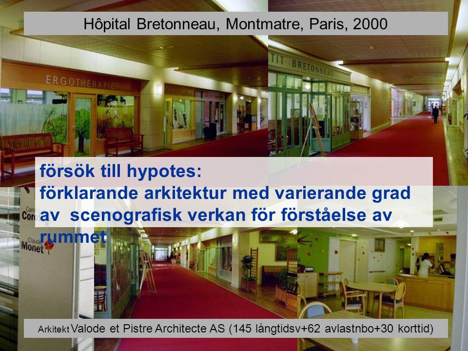 Hôpital Bretonneau, Montmatre, Paris, 2000