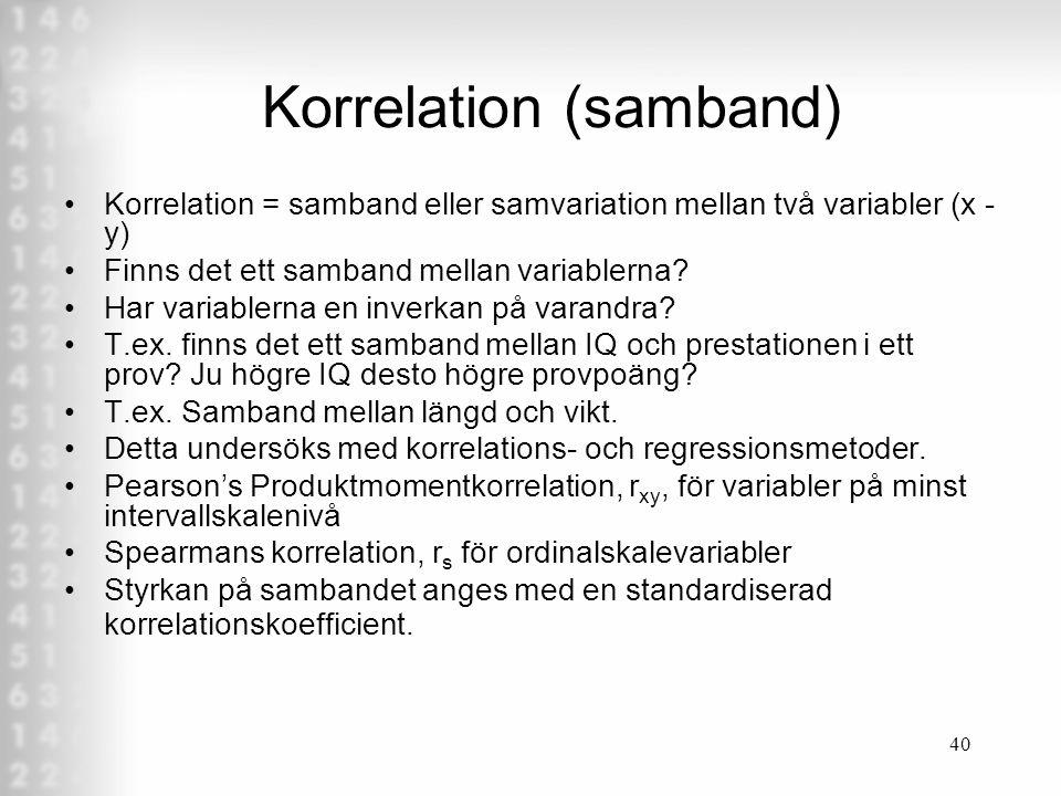Korrelation (samband)