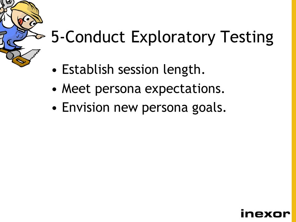 5-Conduct Exploratory Testing