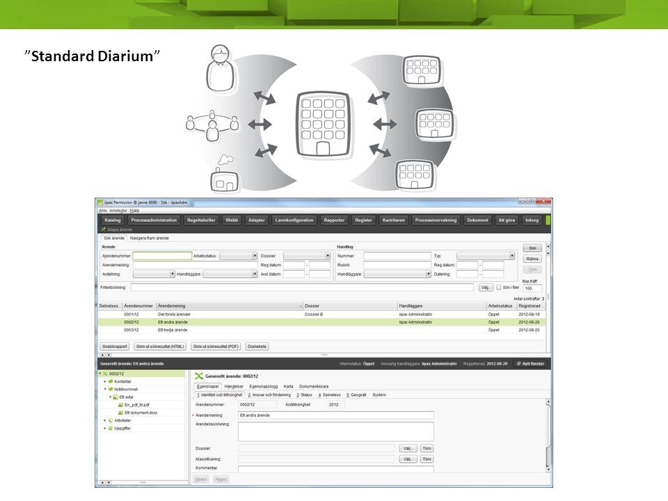 Standard Diarium