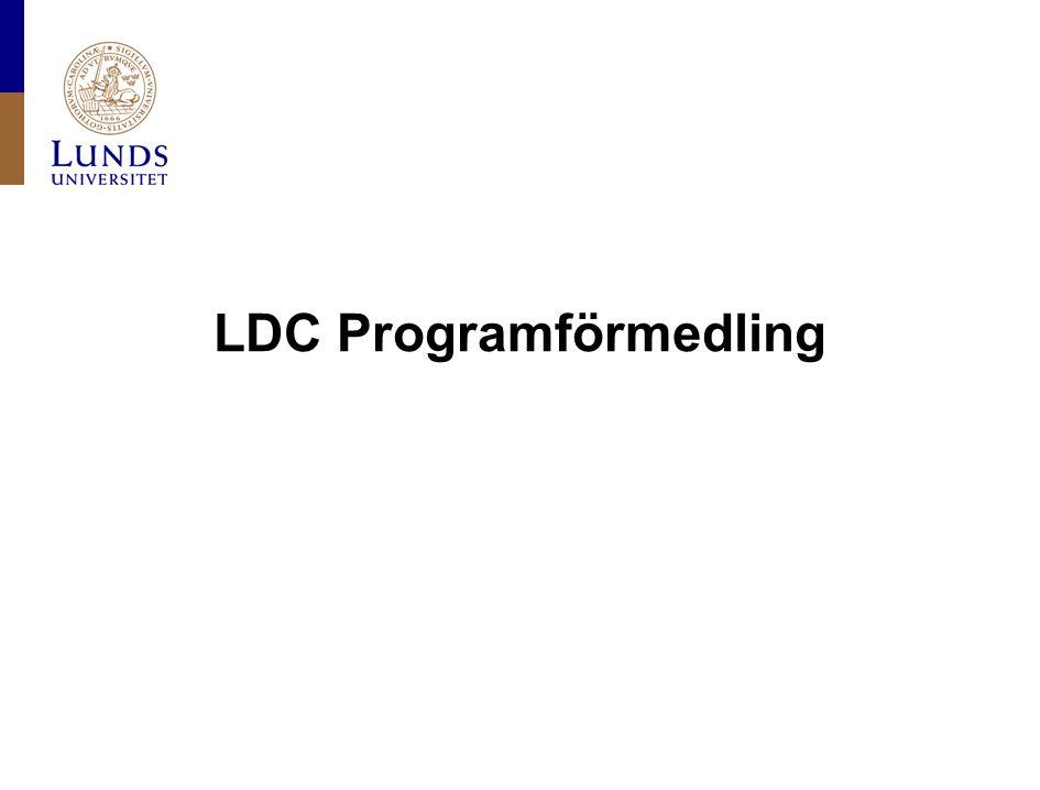 LDC Programförmedling