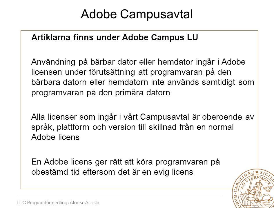 Adobe Campusavtal