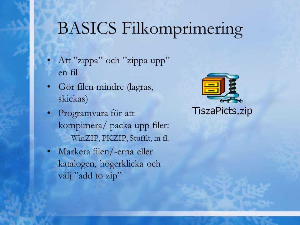 BASICS Filkomprimering