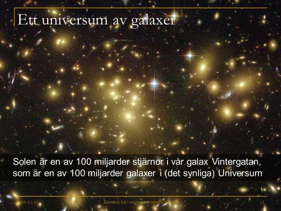 Ett universum av galaxer