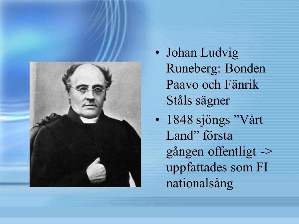 Johan Ludvig Runeberg: Bonden Paavo och Fänrik Ståls sägner