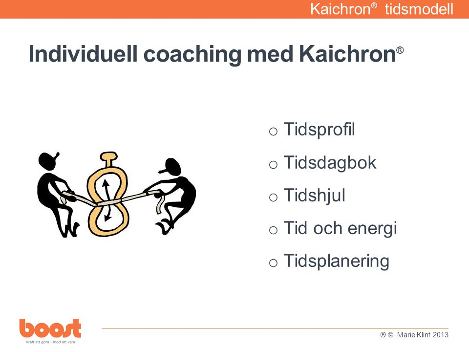Individuell coaching med Kaichron®