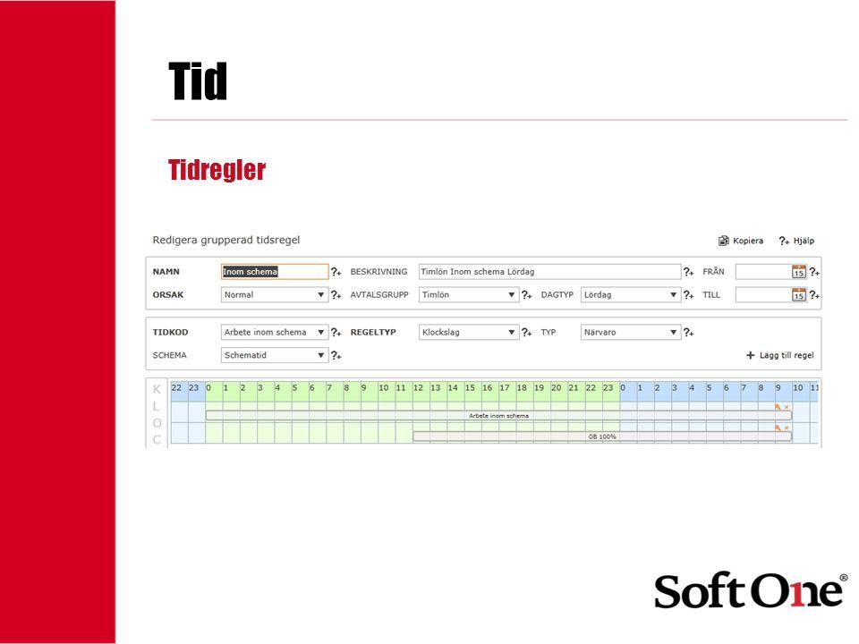 Tid Tidregler 1-15 anställda