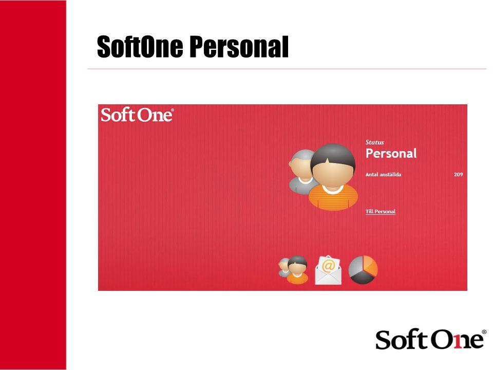 SoftOne Personal 1-15 anställda